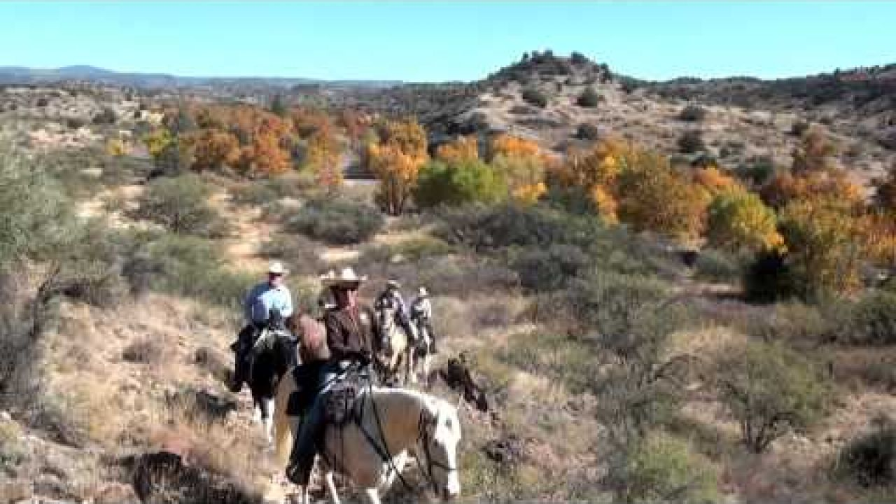 Horseback Riding the Trails of the Verde Valley, near Sedona, Arizona